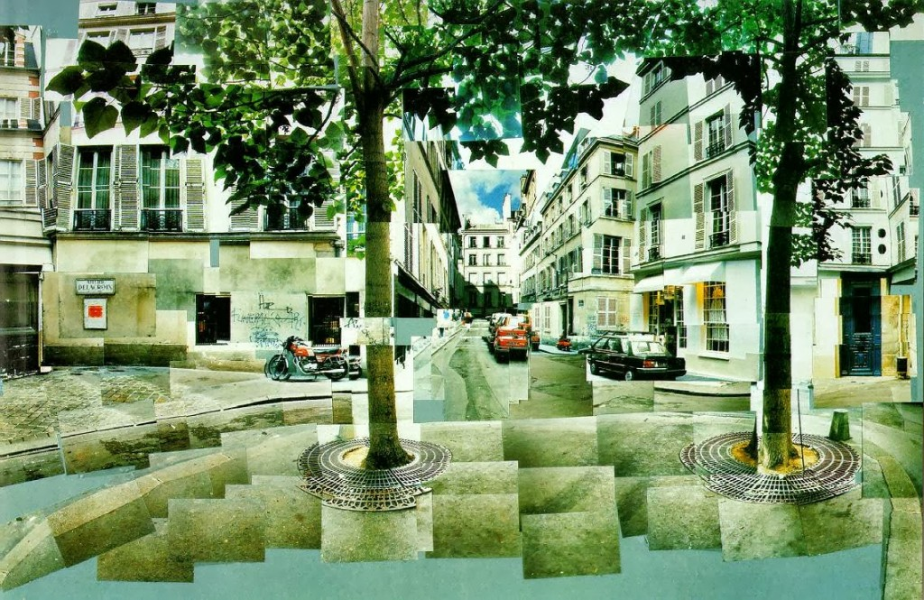 david hockney - furstenberg-paris collage
