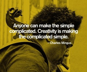 mingus on creativity